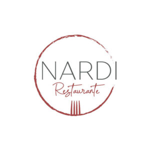 Diseñadora gráfica freelance, logotipo restaurante Nardi, hervás